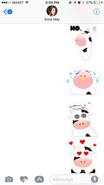Mooo Stickers Pack