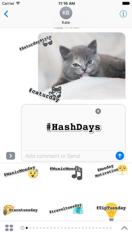 DayCals: #Hashdays
