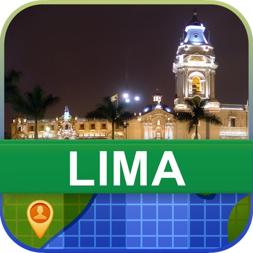 Offline Lima, Peru Map - World Offline Maps icon