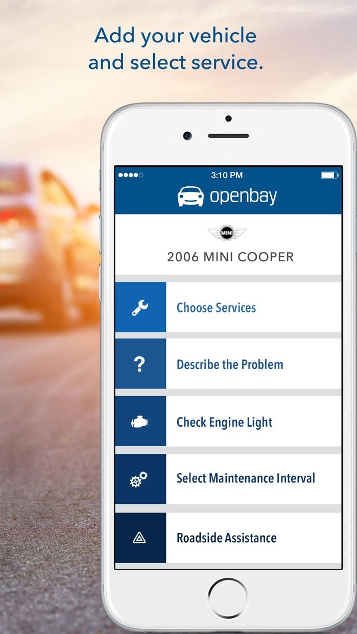 Openbay: Book Car Repair Screenshot