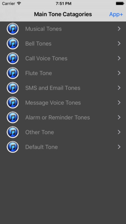 Tones - Ringtones for Phone, SMS, Email and Alarm screenshot-1