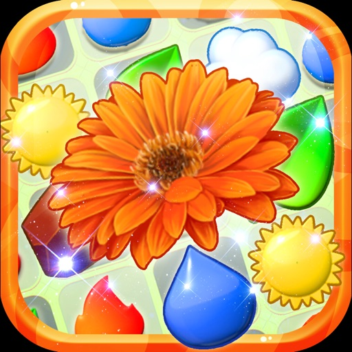 Flower Garden Match3 Game