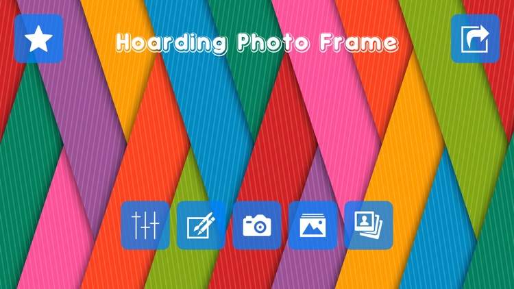 Hoarding Photo Frame & Photo Editor