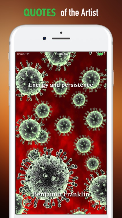 Virus Wallpapers HD- Quotes and Art Pictures screenshot-3