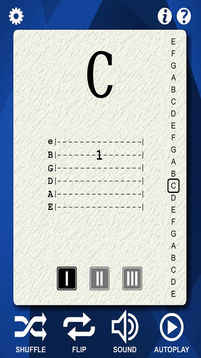 Guitar Notes Flash Cards screenshot three