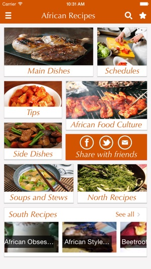African food recipes best cooking tips ideas on the app store screenshots forumfinder Image collections
