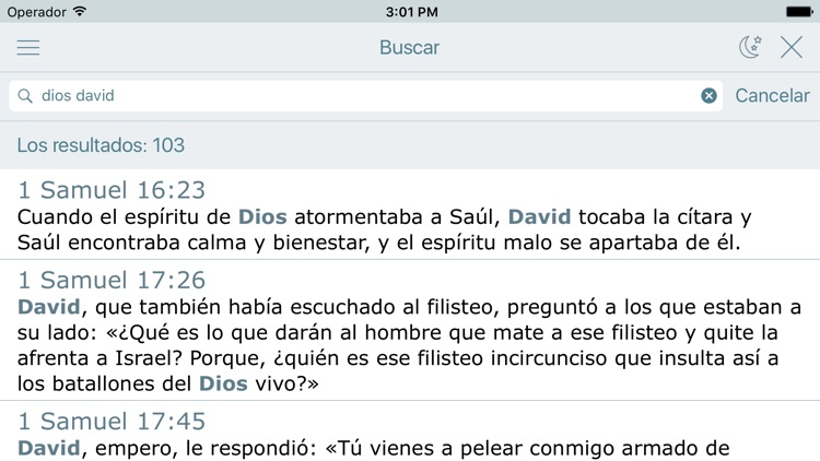 La Biblia Latinoamericana (Audio Bible in Spanish) screenshot-3