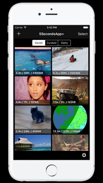 5SecondsApp - GIFのスクリーンショット1