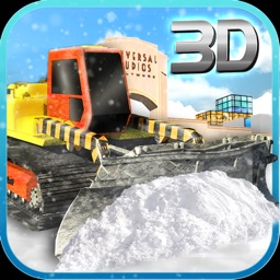 Snow Truck Driving Simulator
