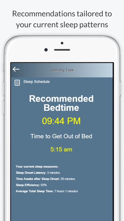 Night Owl - Sleep Coach screenshot-3