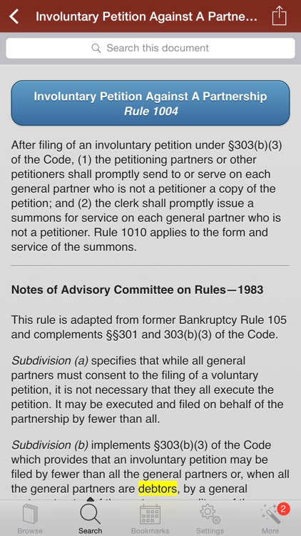 2015 Bankruptcy US Code screenshot-2