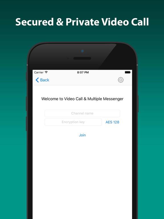 Video Call & Multiple Messenger-ipad-0
