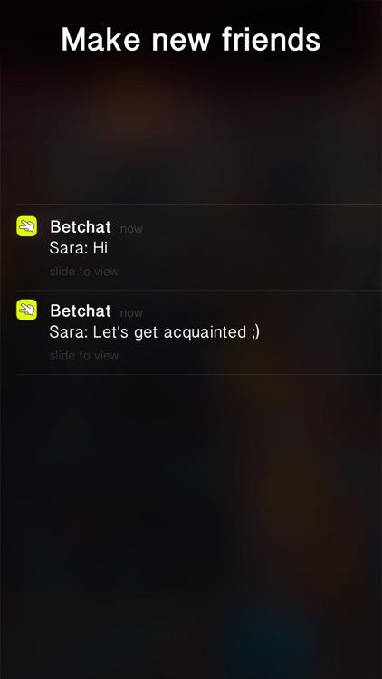 BetChat - free dating chat and random bet app screenshot-4