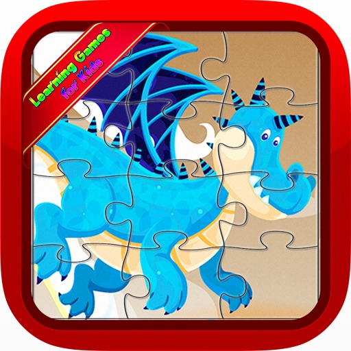 Dragon Jigsaw Puzzles Games for Baby and Toddlers