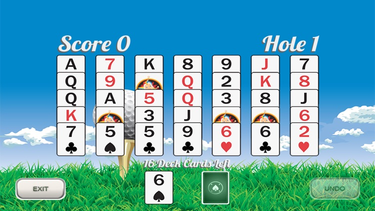 Golf Solitaire 18 screenshot-0