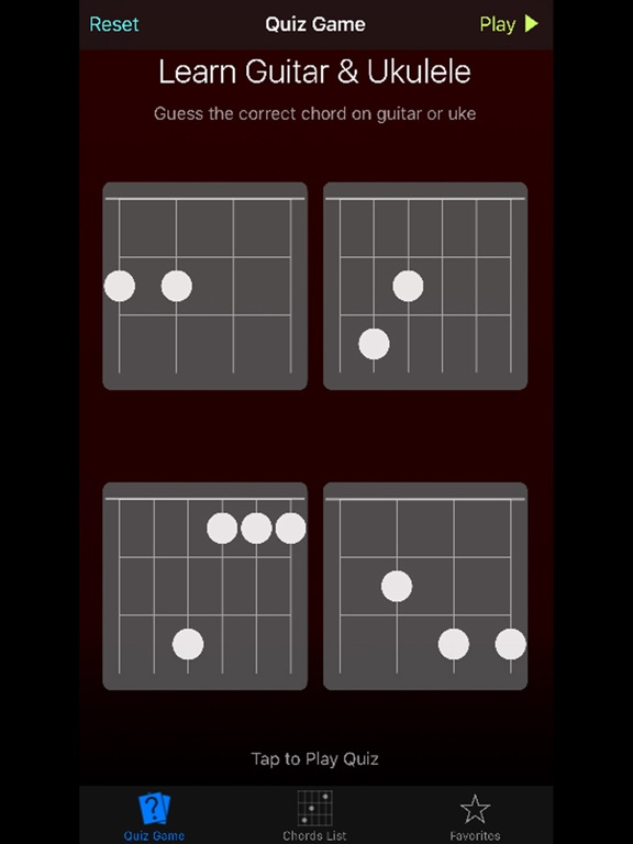 Uke Guitar Quiz Learn Ukulele Guitar Chords App Price Drops