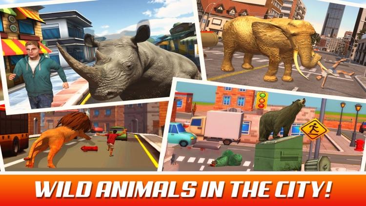 Ultimate Rhino Simulator - Animal Survival games screenshot-4