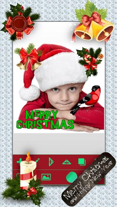 クリスマス・フォトブース – クリスマスステッカー写真編集ソフト紹介画像5