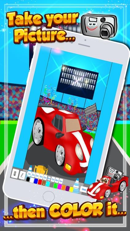 Race Cars! Car Racing Games for Kids Toddlers screenshot-3