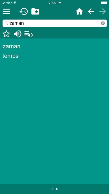 Turkish French dictionary screenshot-3