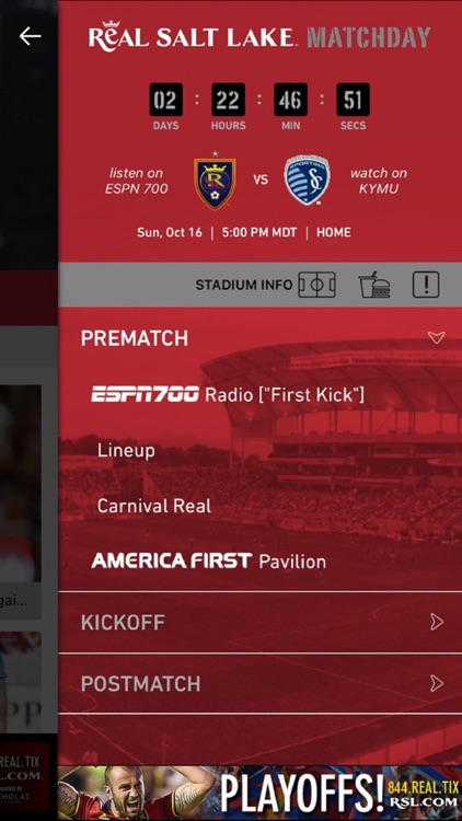 Real Salt Lake (Official Mobile App) screenshot-3