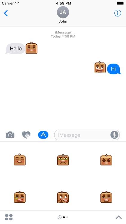 Mr.box : square of emoji
