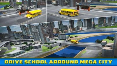 School Bus Driver - Pick & Drop 3D Simulator Game screenshot two