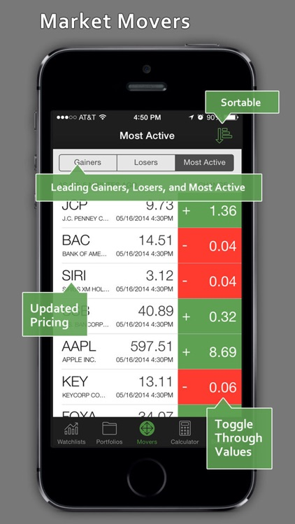 StockWatch - Portfolio Tracking & Stock Quotes screenshot-4