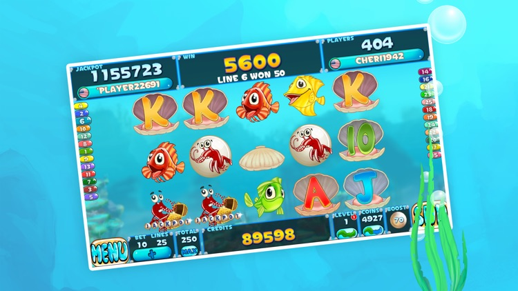 Fishy Slots Fun