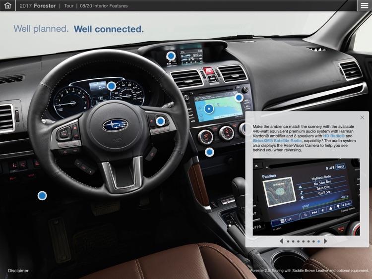 Official 2017 Subaru Forester Guided Tour App screenshot-3