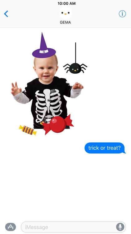 GEMA Stickers: Halloween screenshot-3