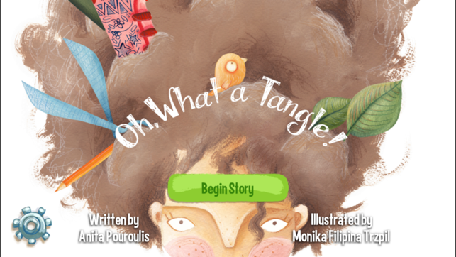‎Oh, What a Tangle! Kids Bedtime Story & Best Ebook Screenshot