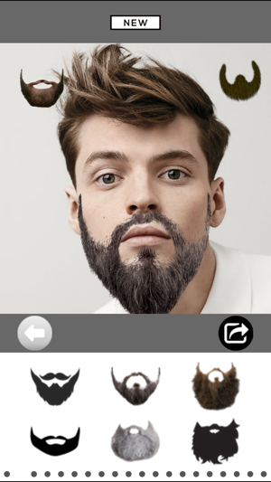 Mooch - Beard & Mustache Photo Editor for Men Face on the App Store