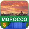 オフラインて モロッコ マッフ - World Offline Maps