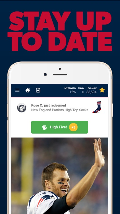 New England Football Louder Rewards screenshot-3