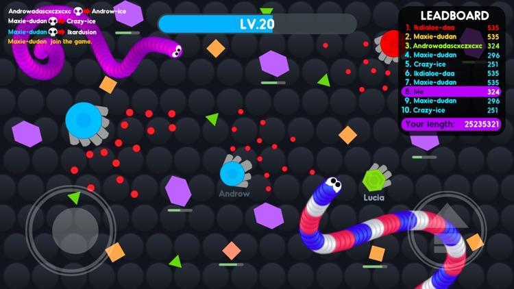 Snake.io Go screenshot-3