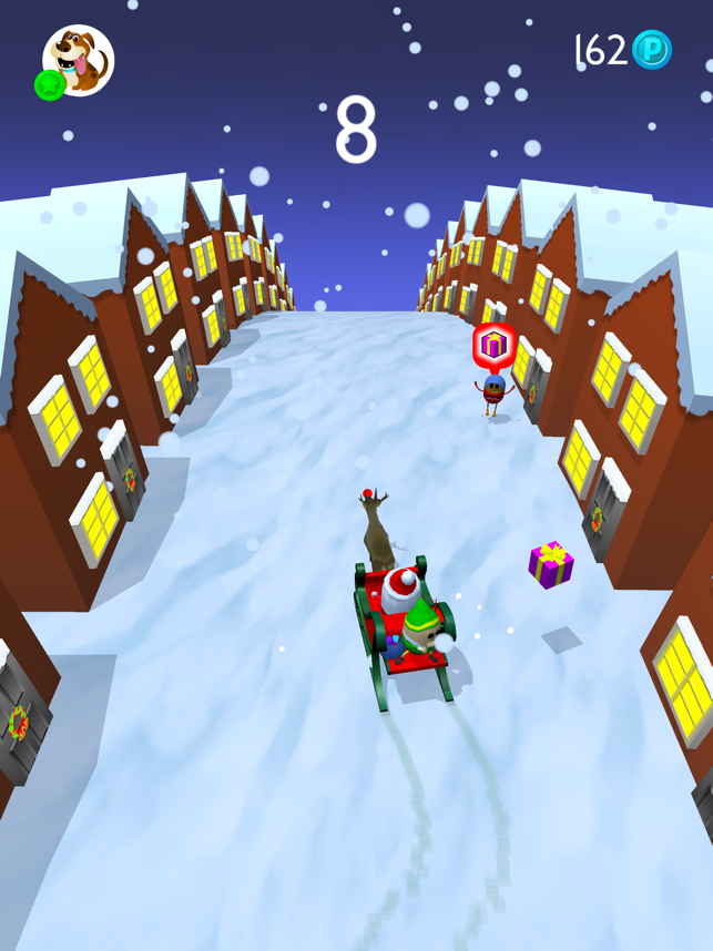Bob Sleigh - Santas Little Helper, game for IOS
