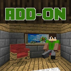 Furniture Add-On for Minecraft PE - Chairs! 4+ & Furniture Add-On for Minecraft PE - Chairs! on the App Store