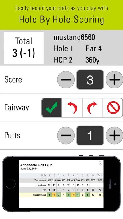 SkyCaddie Mobile Golf GPS screenshot-4