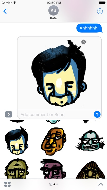 Garabato Stickers screenshot-3