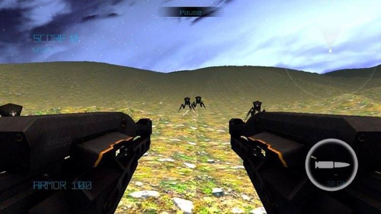 Alien Arachnid intersteller invasion 3D