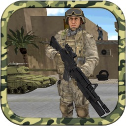 City Commondo Shooting : 3D Army War Mission