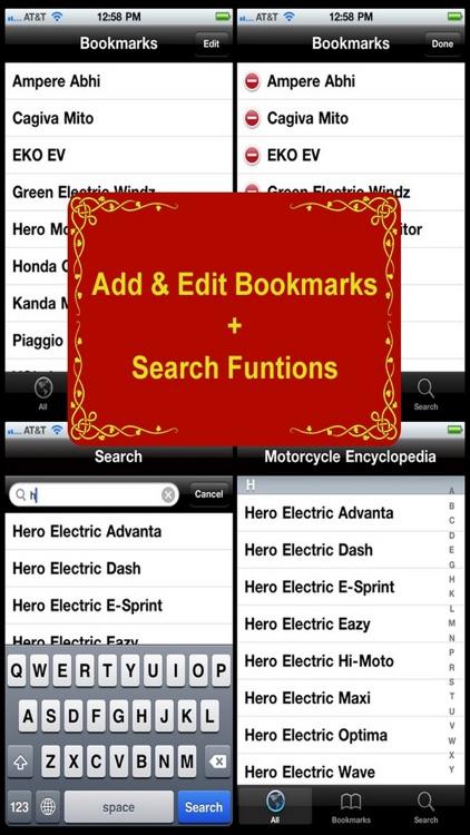 Motorcycle Encyclopedia screenshot-3
