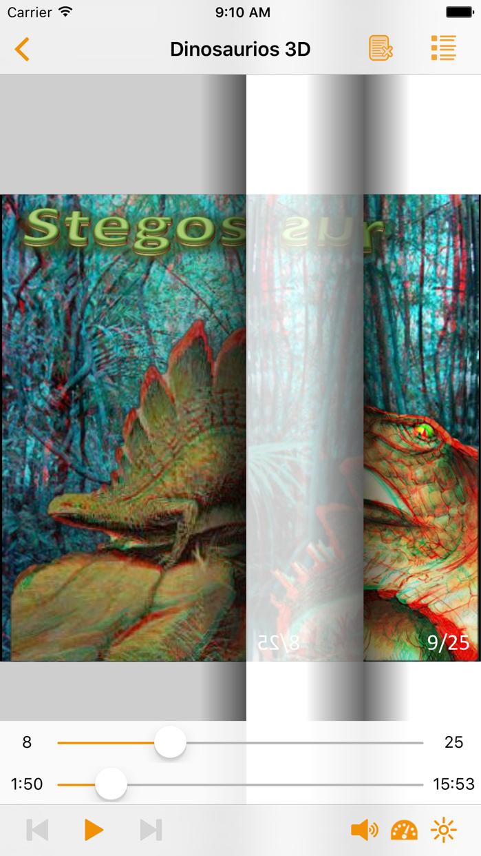 Dinosaurios en 3D Screenshot