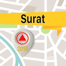Surat Offline Map Navigator and Guide