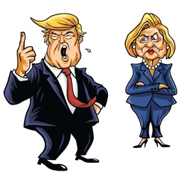 American Election Funny Stickers