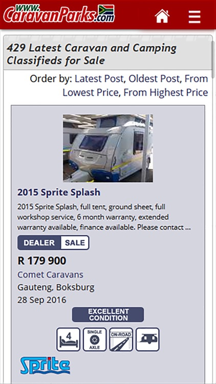 Camping South Africa