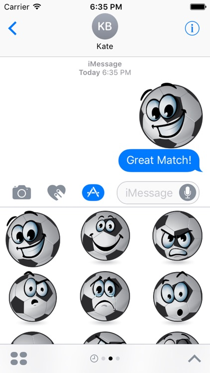 BallMoji - Soccer Stickers Football