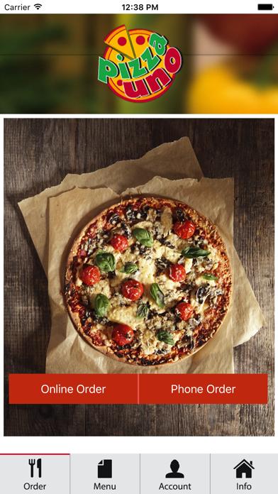 Pizza Uno screenshot one