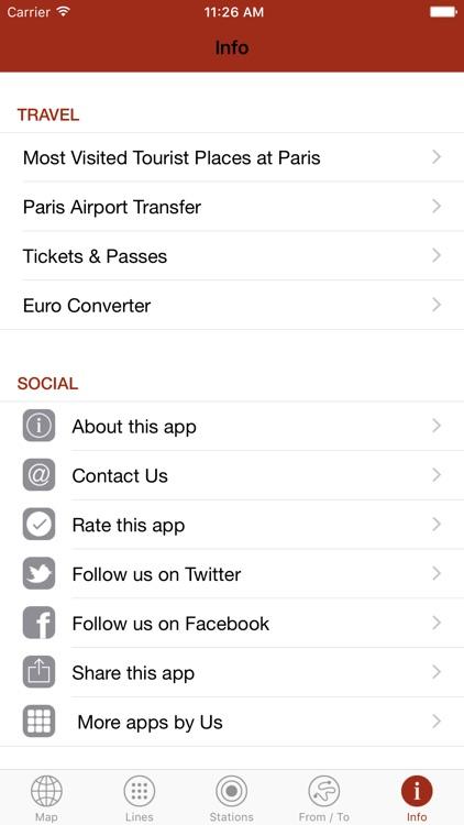 Paris By Metro – Easy subway, Train & Tram Maps screenshot-4